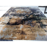 Gold Multi Abstract Rug