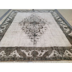 Gray Distressed Rug