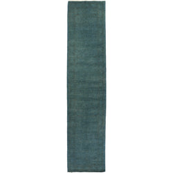 Teal Overdyed Runner