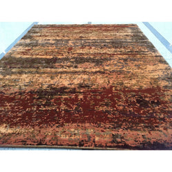 Abstract Rust Multi Rug