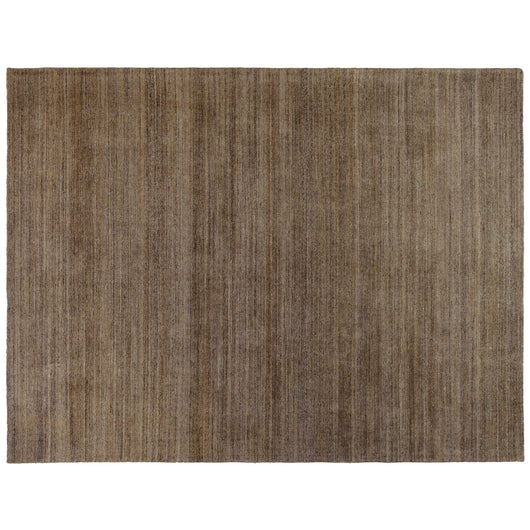 Hand Tufted Brown Wool Area Rug