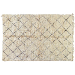 Diamond Pattern Moroccan Rug