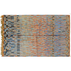 Dash of Blues Moroccan Berber Rug