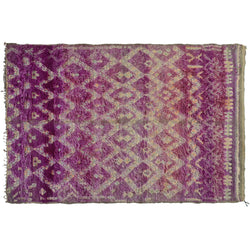 Purple Moroccan Rug