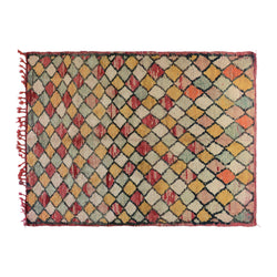Pastel Color Moroccan Rug