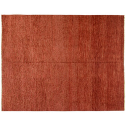 Contemporary Red Gabbeh Rug