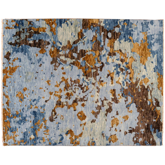 Abstract Multi-Color Rug