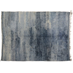 Dash of Blues Moroccan Rug