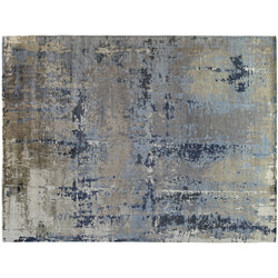 Blue Abstract Rug