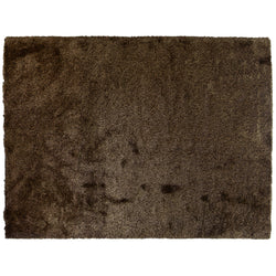Chocolate Brown Shag Area Rug