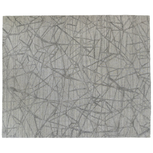 Contemporary Grey High Low Area Rug