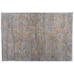Grey and Brown Transitional Area Rug