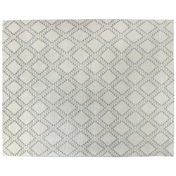 Ivory Moroccan Design Area Rug