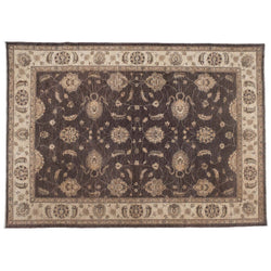 Traditional Pakistani Brown Rug
