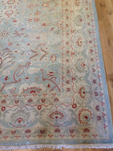 Floral Rug in Traditional Pakistani Design