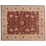 Traditional Pakistani Flowers and Vines Wool Rug