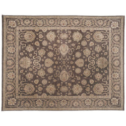 Traditional Pakistani Brown Area Rug