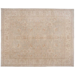 Traditional Pakistani Beige Area Rug