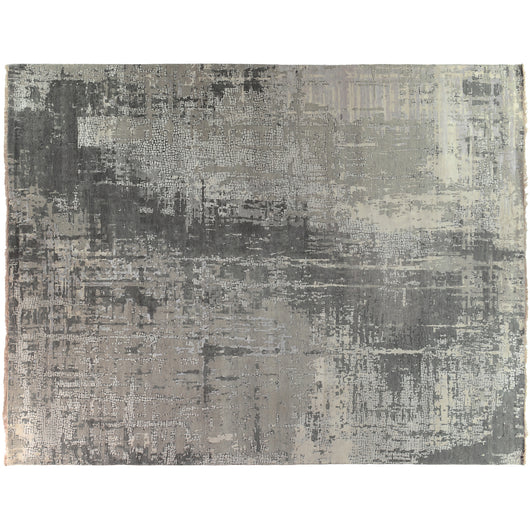 Gray Abstract Rug