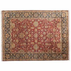 Vibrant Floral Traditional Area Rug