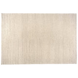 Oatmeal Braided Wool Area Rug