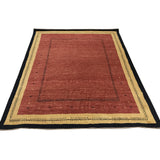 Red, Gold and Black Lori Gabbeh-Style Area Rug