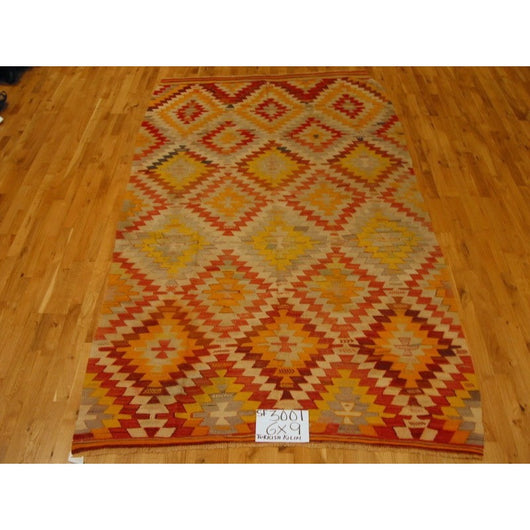 Antique Turkish Kilim Rug