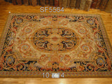 Savonnerie Style Wool Area Rug