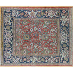 Antique Ziegler Mahal Rug