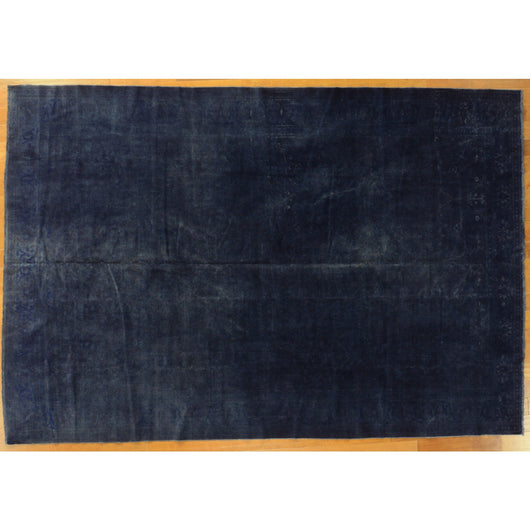 Dark Blue Overdyed Rug