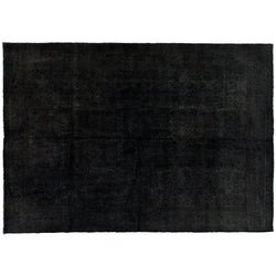 Black Overdyed Rug