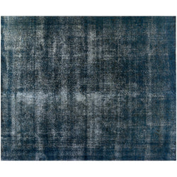 Denim Blue Distressed Rug