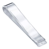 Sterling Silver .925 Solid Design Engravable Money Clip, Designed and Made in Italy. By Sterling Manufacturers