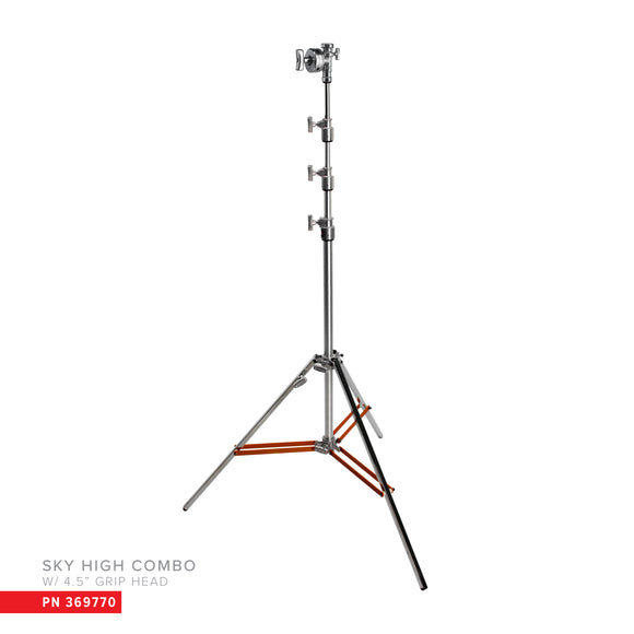 Hollywood Overhead Stand Triple Riser with 4.5