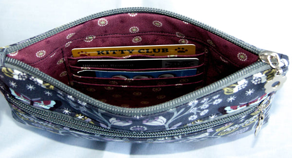Ruby Handbag and Lila Wristlet