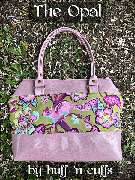 Maija Tote with Bonus Opal Handbag Pattern