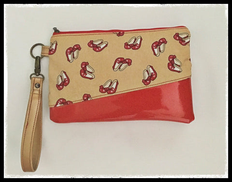 Carissa Clutch Red Shoes