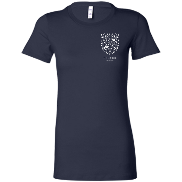 Cotton T-Shirt for Women - Black, Gray & Blue