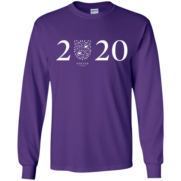Class of 2020 Long Sleeve T-Shirt, YS/YM/YL/YXL
