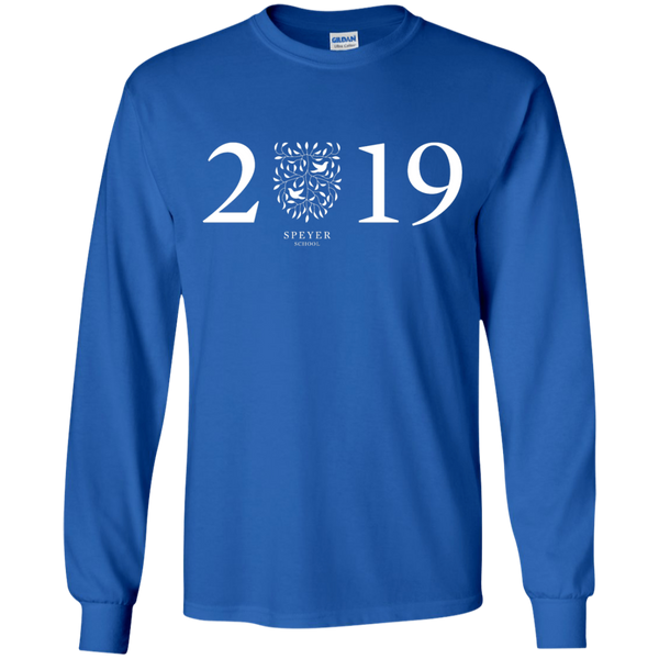 Class of 2019 Long Sleeve T-Shirt, YS/YM/YL/YXL