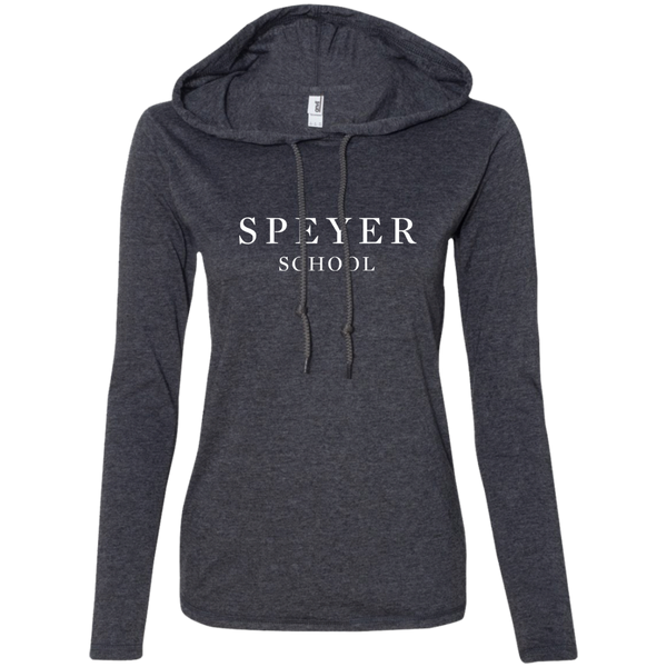 Cotton Hoodie for Women - Gray & Black