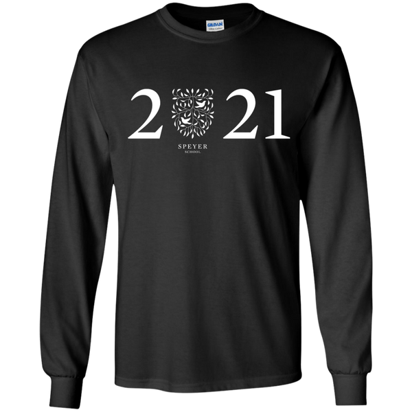 Class of 2021 Long Sleeve T-Shirt, YS/YM/YL/YXL