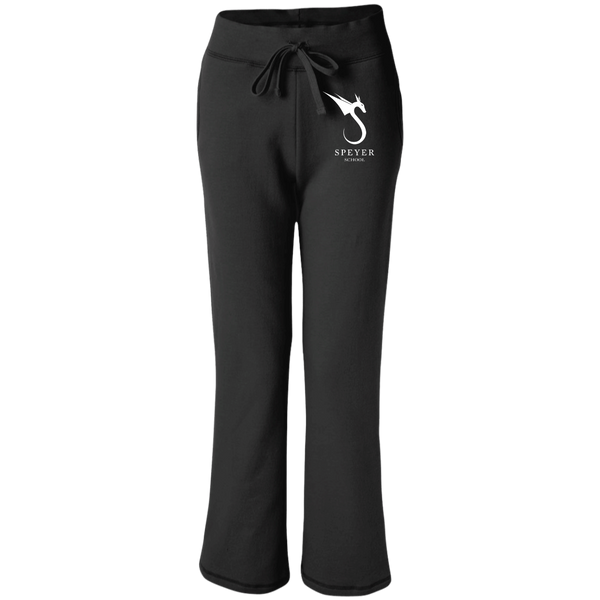 Open Bottom Sweatpants with Pockets for Women