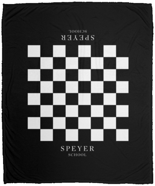 Speyer Chess Plush Fleece Blanket - 50x60