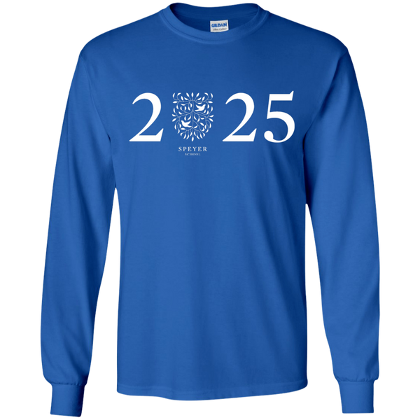 Class of 2025 Long Sleeve T-Shirt, YS/YM/YL/YXL