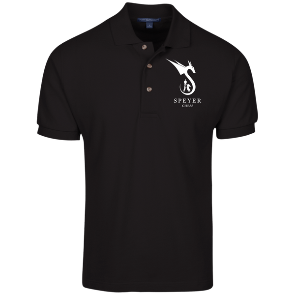 Chess - Cotton Pique Knit Polo for Men