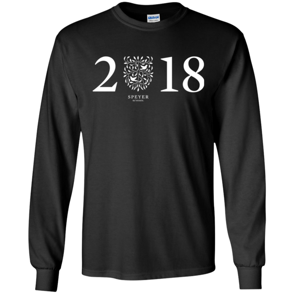 Class of 2018 Long Sleeve T-Shirt, S/M/L/XL