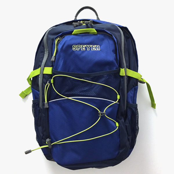 Speyer Logo Backpack by Lands End, Blue/Green