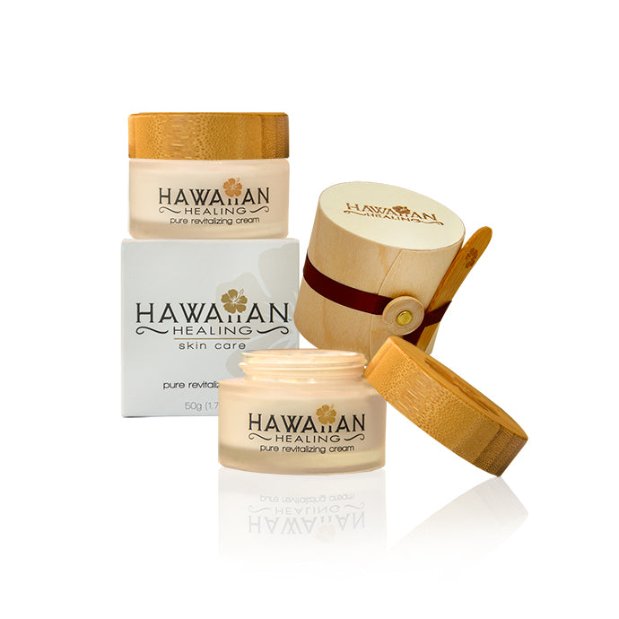Hawaiian Healing Pure Revitalizing Cream 50g Jar Bundles - Hawaiian Healing