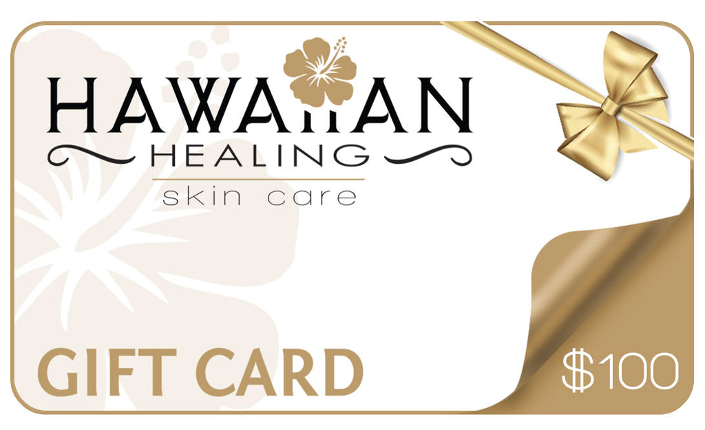 Hawaiian Healing Skin Care Gift Card - Hawaiian Healing